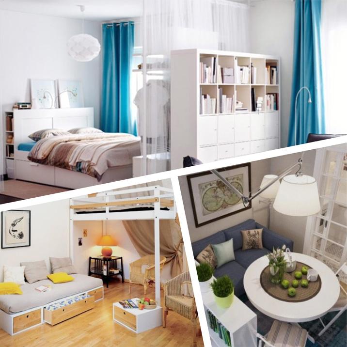 Microappartementen: men heeft niet veel plaats nodig om gelukkig te zijn!